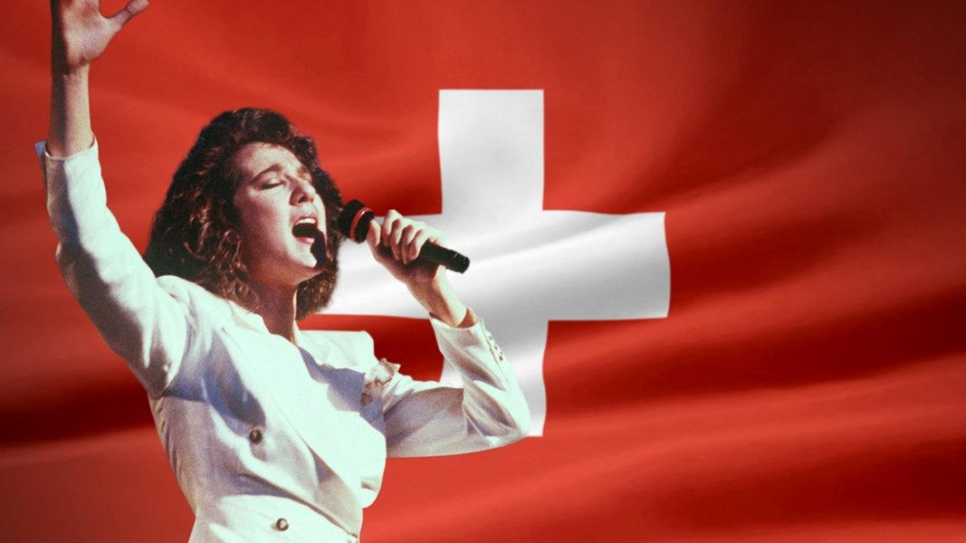 Celine Dion am ESC