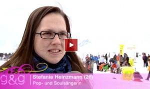 Stefanie Heinzmann: Weihnachten auf der Alp