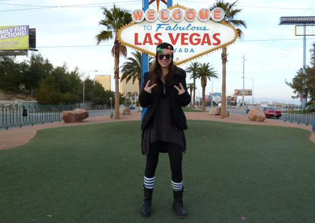 Stefanie Heinzmann in Las Vegas