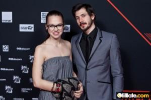 Stefanie Heinzmann mit Bruder Claudio