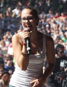 Stefanie Heinzmann freut sich auf die kommende Open-Air Saison