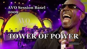 Stefanie Heinzmann mit Tower of Power an der Avo Session in Basel