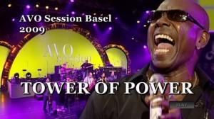 Stefanie Heinzmann mit Tower of Power an der Avo Session in Basel