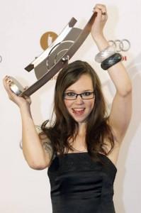 Stefanie Heinzmann mit ihrem Echo 2009