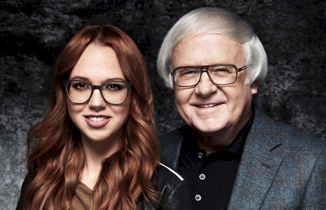 Stefanie Heinzmann und Gilbert Gress