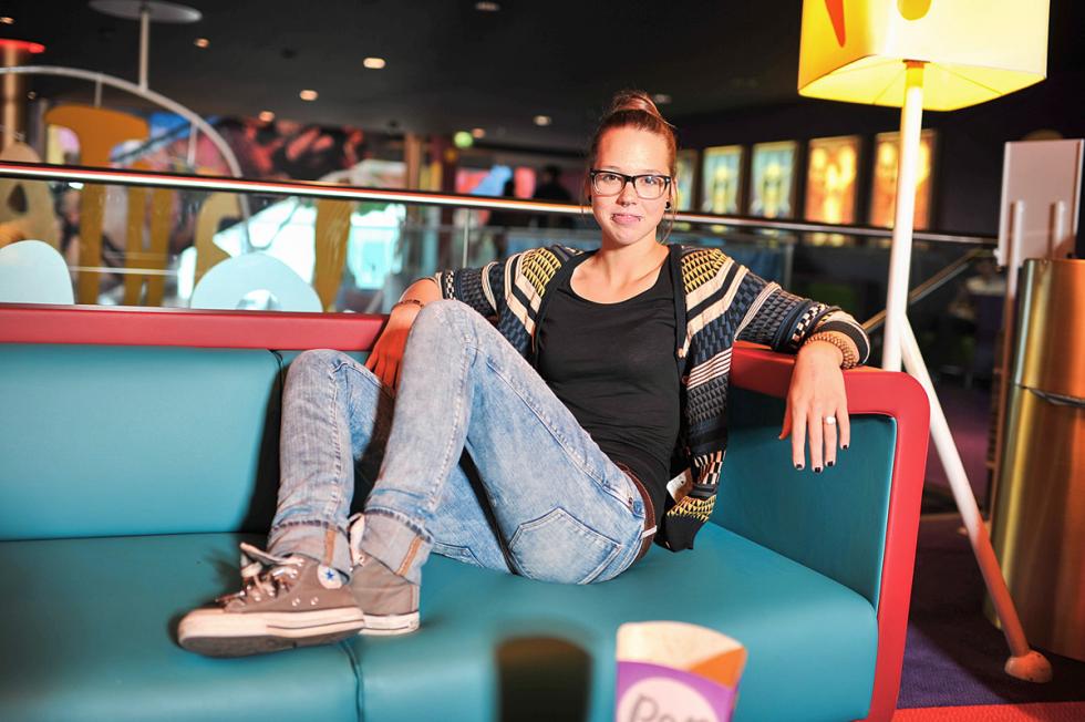 Stefanie Heinzmann in Jeans