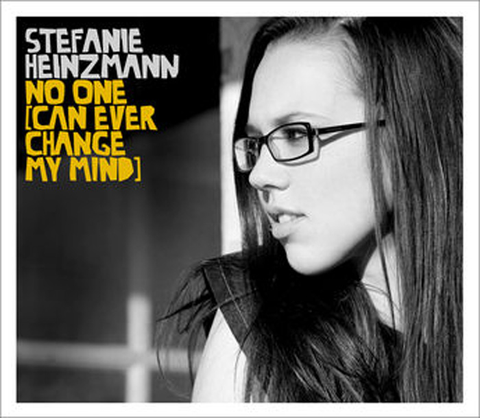 "Stefanies neue Single ""No one can ever change my mind"""