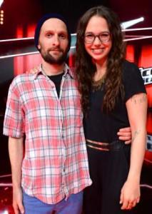 Stefanie Heinzmann mit Shem Thomas