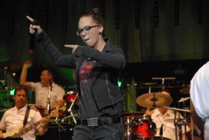 "Stefanie Heinzmann bei ""Sing-a-Song 2012"""