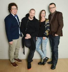 Stefanie Heinzmann und der Rest der Jury - TVOS Start geglückt