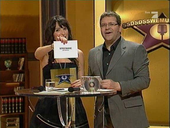 Stefanie Heinzmann gewinnt den Pro 7 Casting Wettbewerb
