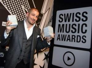 Der Absahner des Abends: Raper Stress holte 2010 als einziger zwei Swiss Music Awards